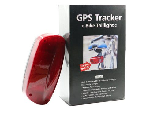 T16 Big Lamp Spy Bike GPS Tracker