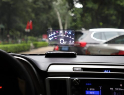 V41 Head Up Display Car OBDII