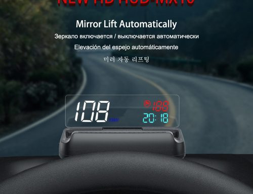MX10 OBD Mirror Hud